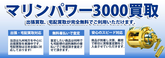 ダイワ マリンパワー3000 バナー画像