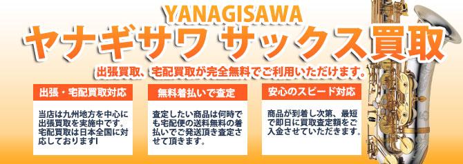 ヤナギサワ(YANAGISAWA)サックス バナー画像