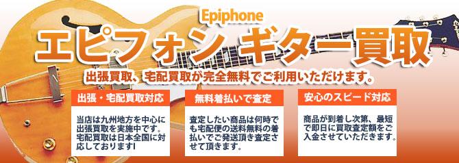 Epiphone(エピフォン) バナー画像