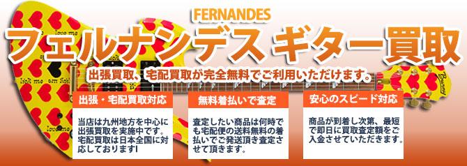 FERNANDES(フェルナンデス) バナー画像
