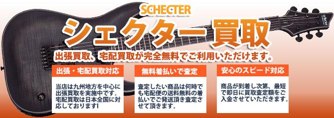 SCHECTER (シェクター) バナー画像