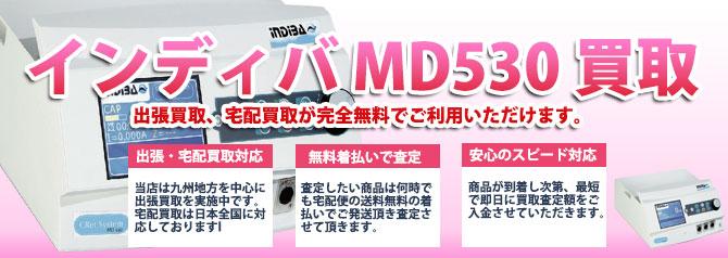 インディバ MD530 バナー画像
