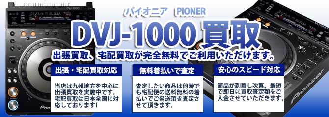 DVJ-1000 パイオニア(PIONER) バナー画像