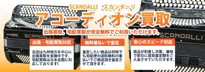 SCANDALLI(スカンダーリ) バナー画像