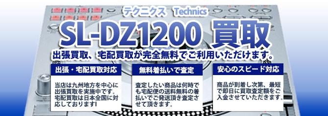SL-DZ1200 テクニクス(Technics) バナー画像