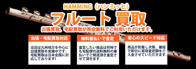 HAMMING(ハンミッヒ)フルート バナー画像