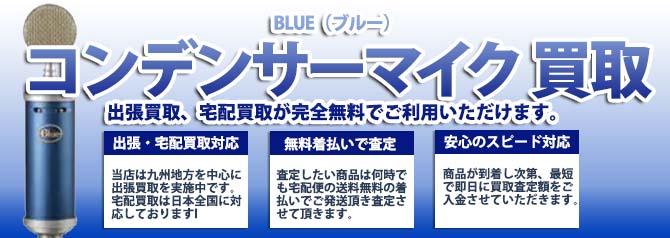 BLUE(ブルー)コンデンサーマイク バナー画像