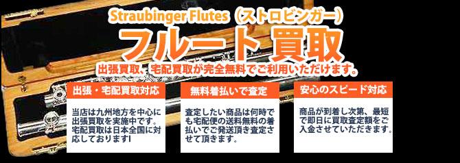 Straubinger Flutes(ストロビンガー)フルート バナー画像