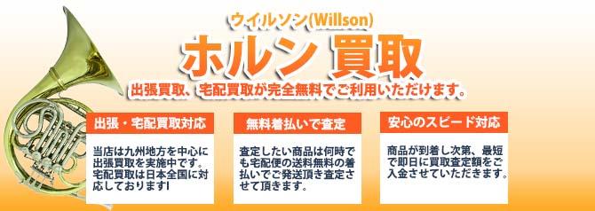 ウイルソン(Willson)ホルン バナー画像